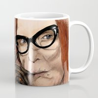 coven Mugs featuring Myrtle Snow || Don't be a hater, dear (from American Horror Story: Coven) by PandaToyz