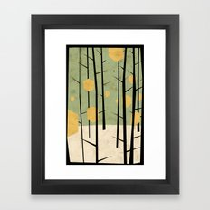 Yeti Dreams Framed Art Print