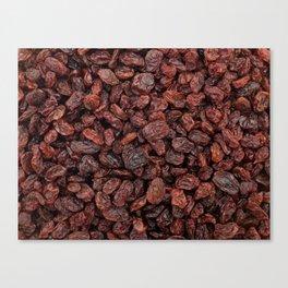 Raisins Canvas Print