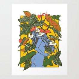 plantae iv Art Print