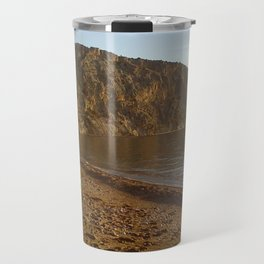 beach Travel Mug