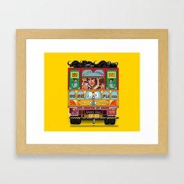 TRUCK ART Framed Art Print