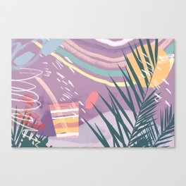 Summer Pastels Canvas Print