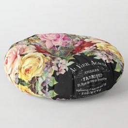 Nuit Des Roses Floor Pillow