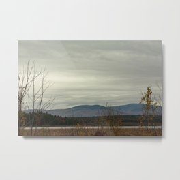 Late Fall Mountain Metal Print