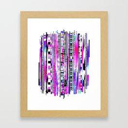 Glitch Ver.3 Framed Art Print