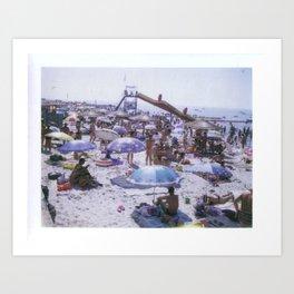 The Beach No. 03 Art Print