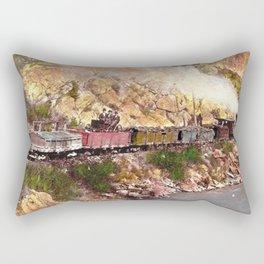 First Class Accommodations Rectangular Pillow