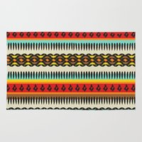 ethnic Area & Throw Rugs featuring Ethnic by Katya Zorin
