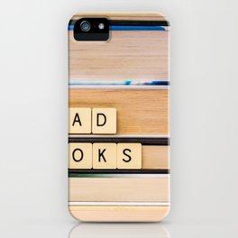 Read Books iPhone Case