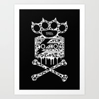 Alternative Rock Art Print