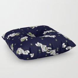 Astro Terrarium Pattern Floor Pillow