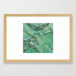 Osprey at Peshastin Pinnacles Framed Art Print