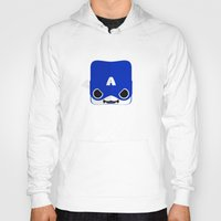steve rogers Hoodies featuring Marshmallow Steve Rogers by Oblivion Creative