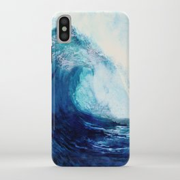 Waves II iPhone Case