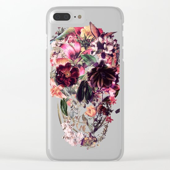 New Skull 2 Clear iPhone Case