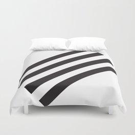 Dark Stripes Duvet Cover