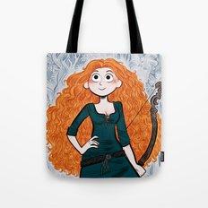 Tribute to Merida. Tote Bag