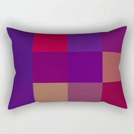 Expect Victory (95 Northwestern Wildcats) Rectangular Pillow