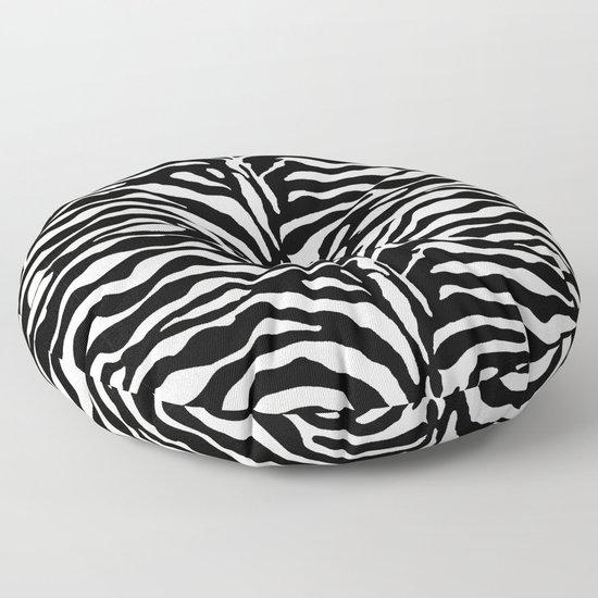 Wild Animal Print, Zebra in Black and White by mmgladn10