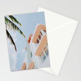 ocean drive / miami beach, florida Stationery Cards