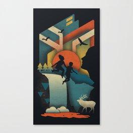 Jump In Canvas Print