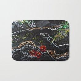 Silver Tree Bath Mat