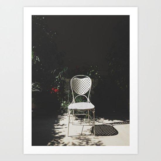 Sit and enjoy Art Print
