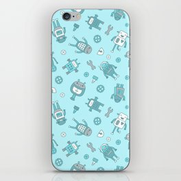 Bots and Cogs iPhone Skin