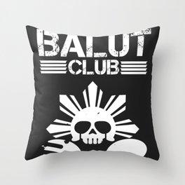 Balut Club Throw Pillow