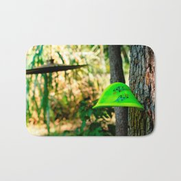Disc Golf Bending but always coming back for more. Bath Mat