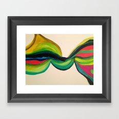 Vriksasana Framed Art Print