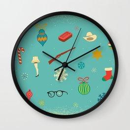 Christmas Story Wall Clock