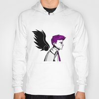 asexual Hoodies featuring Asexual Cas by Dreki