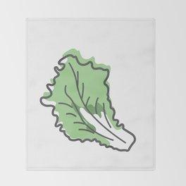 Lettuce Throw Blanket