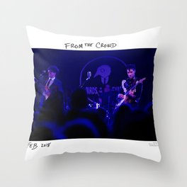 Birds in the Boneyard, Print Eight: From the Crowd Throw Pillow