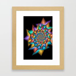 turn around with colors -22- Framed Art Print