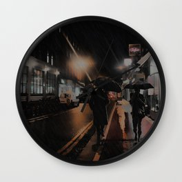 The Moment Passing By, Dublin, Ireland Wall Clock