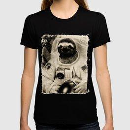 Vintage Sloth Astronaut T-shirt