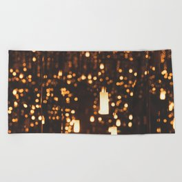 By Candlelight Beach Towel