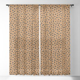 Cheetah animal print Sheer Curtain