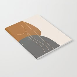 Line Female Figure 81 Notebook