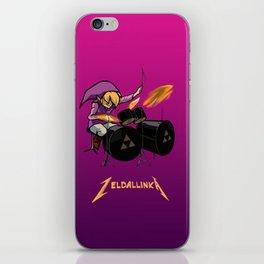 Zelda llinka - Purple Link iPhone Skin