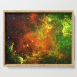 North American and Pelican Nebulae Serving Tray