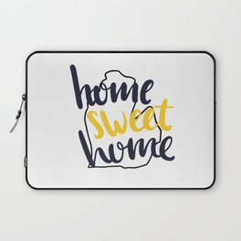 Home Sweet Home Michigan Laptop Sleeve
