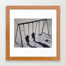 frost swing Framed Art Print