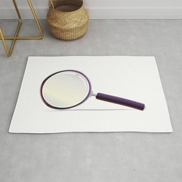 Magnifying Glass Rug