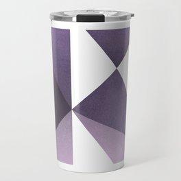 """""""K"""" Drop Cap Travel Mug"""