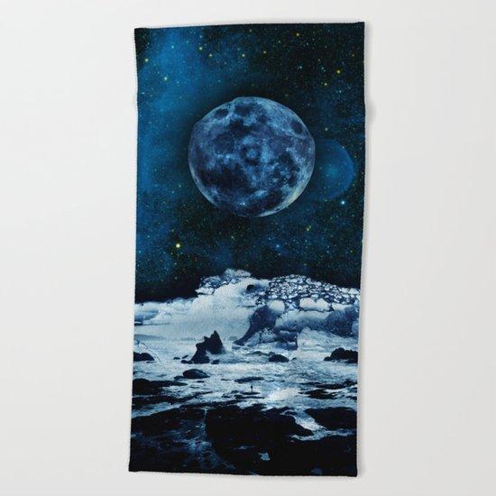 Blue Traveler Beach Towel