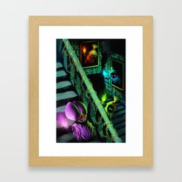 Zelda: Poe Sisters Framed Art Print